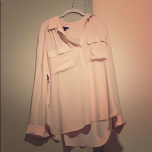 Pink Ann Taylor Blouse- New